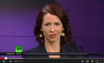 RT video hostess