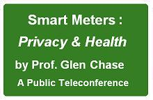 Public teleconference on Privacy & Health
