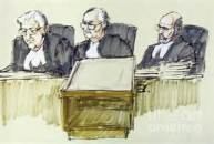 three judges panel