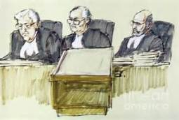 three judges panel
